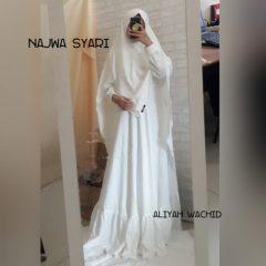 Najwa Syar'i Warna White