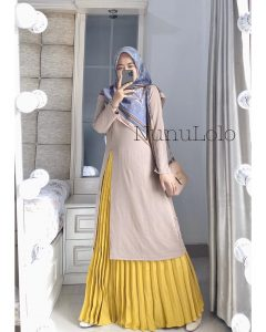 Safiya Set Warna Cream