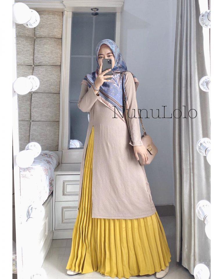 Safiya Set Warna Cream