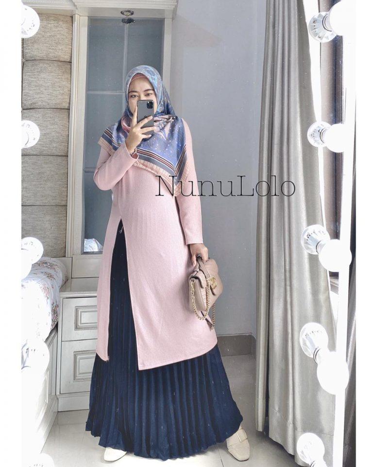Safiya Set Warna Pink