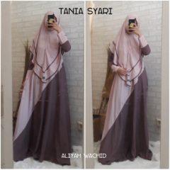 Tania Syar'i Warna Pink