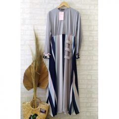 Velope 02 Dress Warna Grey