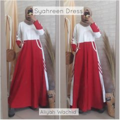 Syahreen Dress Warna Red