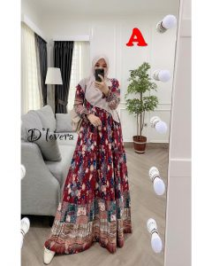 Clowy Dress Kode A