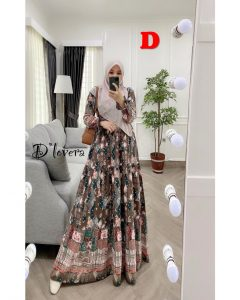 Clowy Dress Kode D