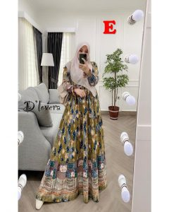 Clowy Dress Kode E