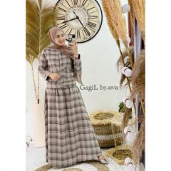 Stefani Dress Warna Cream