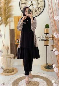 Bahiya Set Warna Black