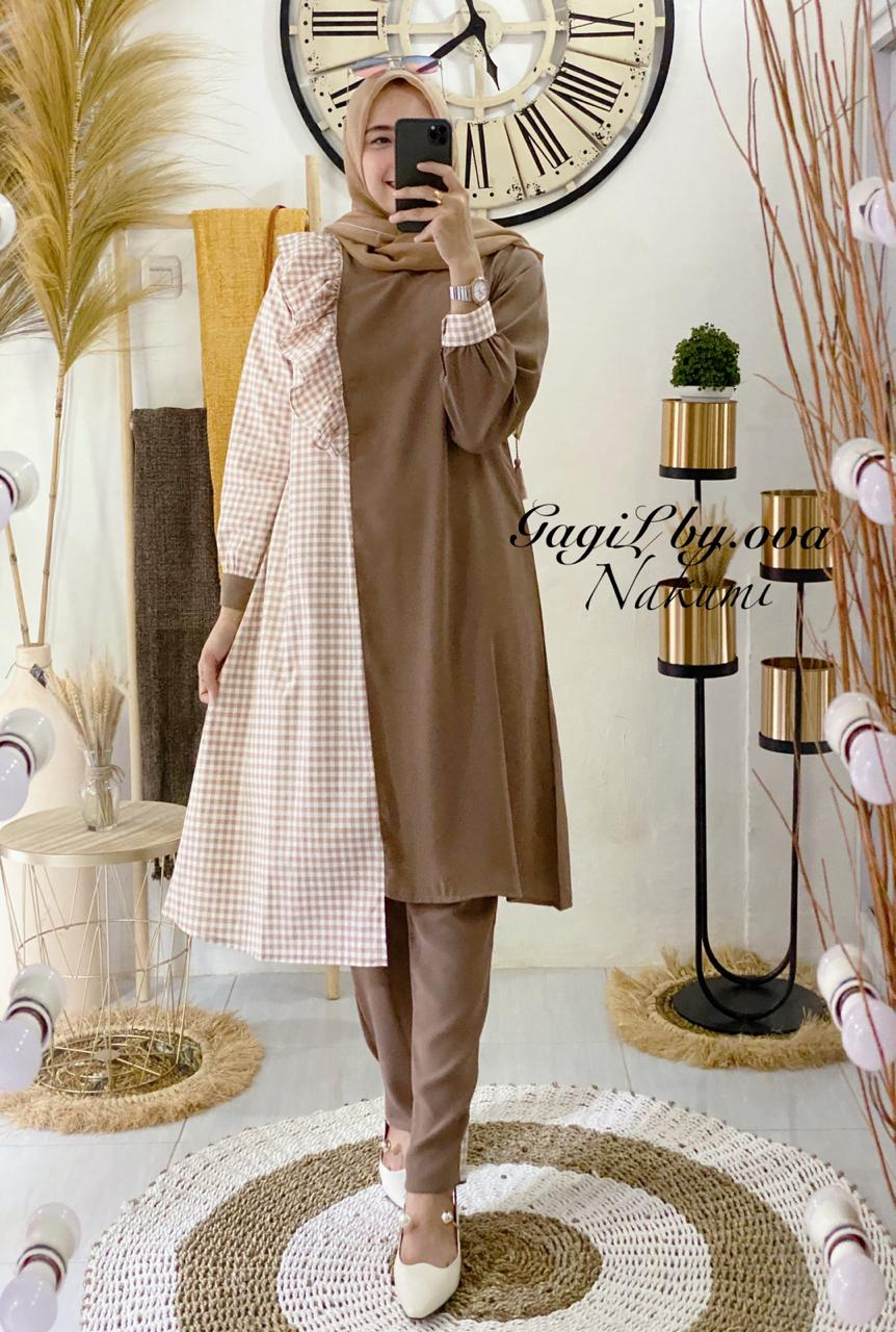 Nakumi Set Warna Brown