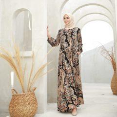 Sameer Dress Warna Black