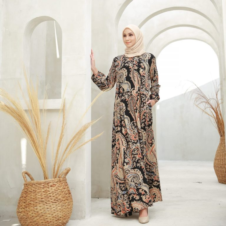 Sameer Dress Warna Black