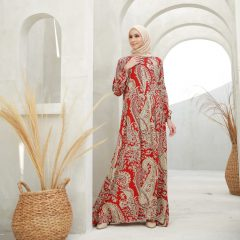 Sameer Dress Warna Ruby
